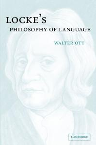 Locke's Philosophy of Language - Walter Ott