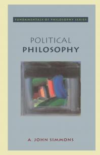 Political Philosophy - A. John Simmons